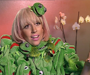 blonde, frog, and muppet image