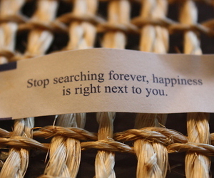 happiness, quote, and forever image