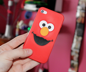 cute, elmo, and red image