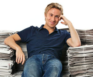comedy, russell howard, and bbc 3 image