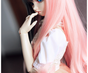 adorable, bjd, and innocent image