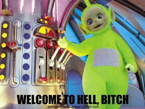 Teletubbies Hell Shared By At Victory4everandever