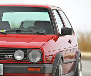 cars, volkswagen, and golf image