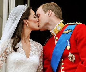 kiss, royal wedding, and wedding image