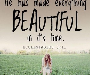 beautiful, god, and quote image