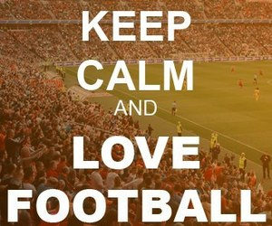 football and love image