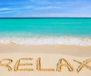relax, beach, and summer image