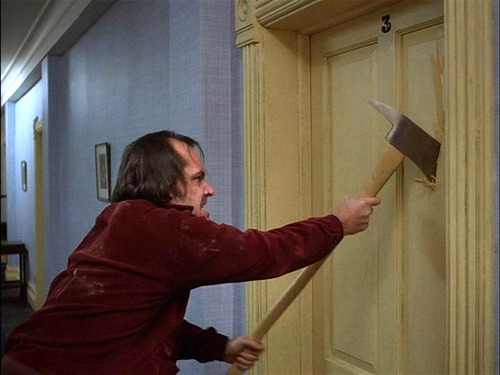 The Shining, movie, and jack nicholson image