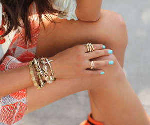 bracelet, cool, and fashion image