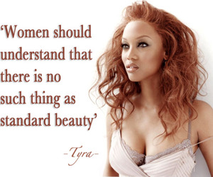 beauty, quote, and tyra banks image
