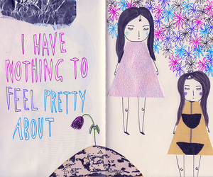 quote, pretty, and drawing image