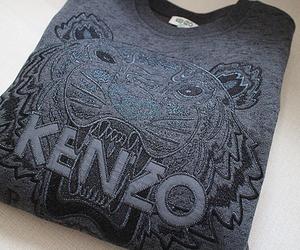 Kenzo, fashion, and tiger image