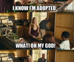 adopted, brother, and funny image