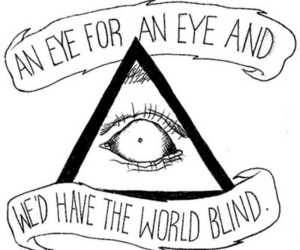 eye, quote, and text image