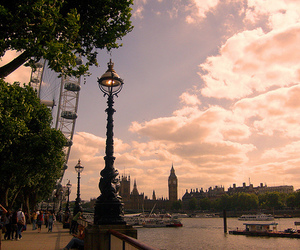 Big Ben, boat, and europe image