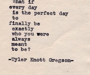 quotes, perfect day, and poem image