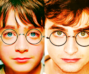 harry potter, daniel radcliffe, and eyes image