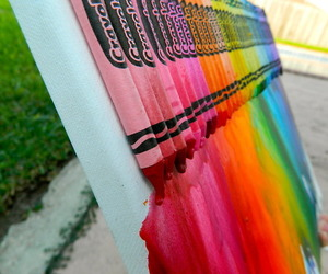 crayon, colors, and cool image