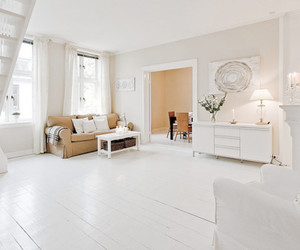 beautiful, room, and white image