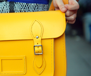 purse, satchel, and yellow image