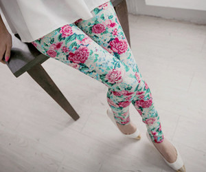 fashion, flowers, and floral image