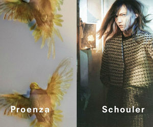 fashion, Proenza Schouler, and Sasha Pivovarova image