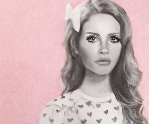 pink and lana del rey image