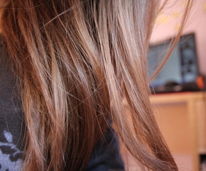 blonde, cheveux, and hair image