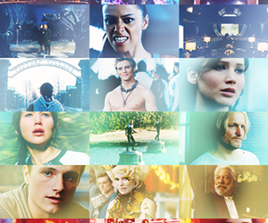 the hunger games, catching fire, and peeta image