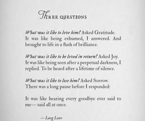love, quote, and Lang Leav image