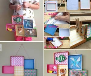 colorful, picture frame, and diy image