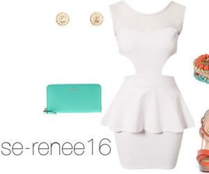 charlotte russe, kate spade, and Polyvore image