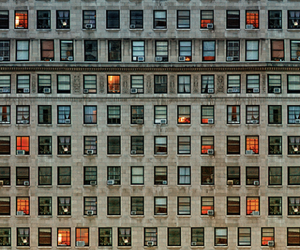 windows, building, and city image