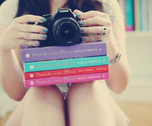 book, camera, and canon image