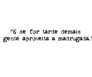 frases, madrugada, and quote image