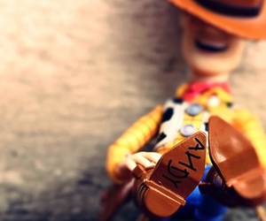 toy story, andy, and woody image