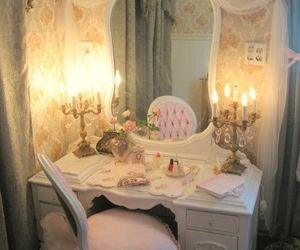 Chambre, decoration, and roses image