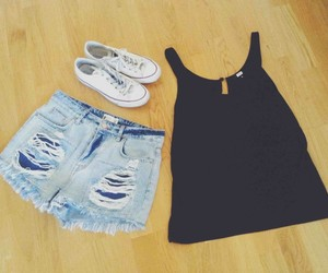 black, Hot, and converse image