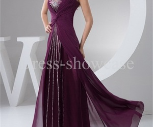 model, plus size prom dress, and modest prom gown image