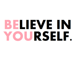 be, believe, and in image