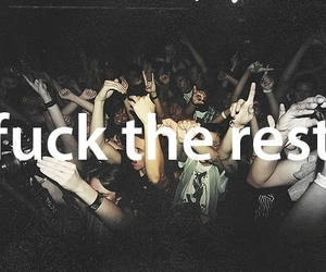 party, rave, and people image