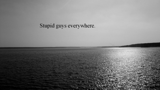 love,stupid,guys,love quotes,life quotes discovered by ...
