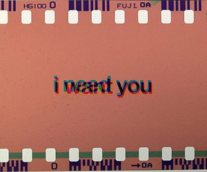 need, want, and you image