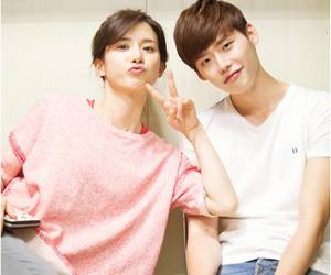 i hear your voice, lee jong suk, and lee bo young image