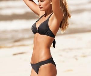 beach, blond, and perfection image