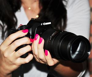 camera, nails, and canon image