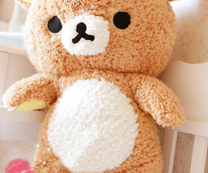 kawaii, rilakkuma, and bear image