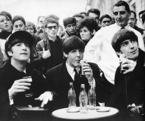 the beatles and coca-cola image