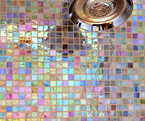 shower, home, and tiles image