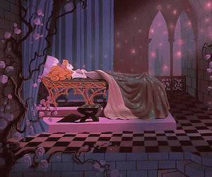 sleeping beauty, disney, and aurora image